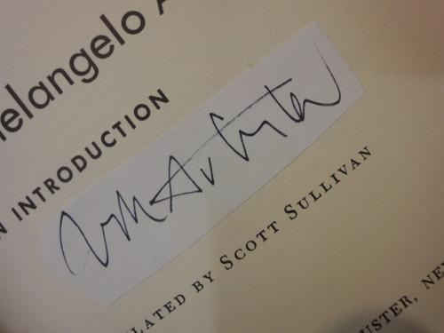 "Antonioni, Michelangelo ""An Introduction"" 1963 Book Signed Autograph Photos"