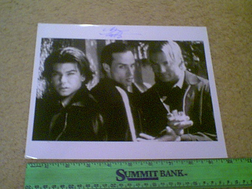 """Arquette, Alexis 1995 Photo """"Sometimes They Come Back...Again"""" Signed Autograph"""