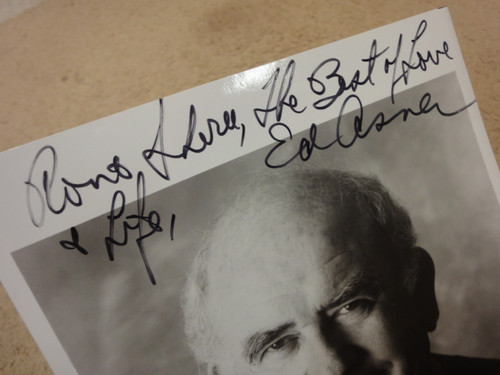 Asner, Ed Photo Signed Autograph