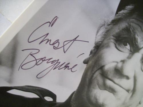 Borgnine, Ernest Photo Signed Autograph The Wild Bunch Dirty Dozen Flight Of The Phoenix Black Hole 1976