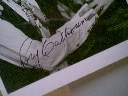 """Calhoun, Rory Markie Post Alan Thicke Linda Blair 1986 Photo """"The Wildest West Show Of The Stars"""" Signed Autograph"""