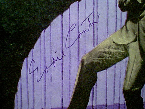 """Cantor, Eddie """"The Best Of"""" 1959 LP Signed Autograph """"Ida Sweet As Apple Cider"""""""