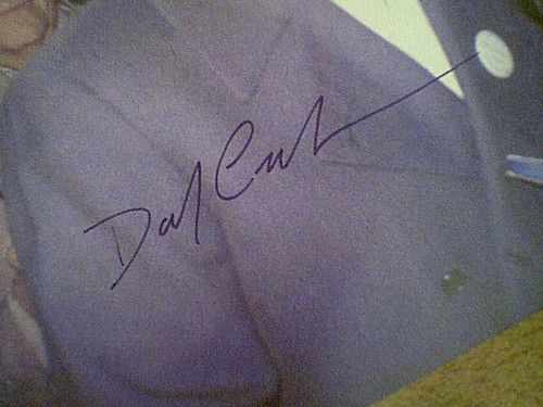 Carradine, David Early Color Photo Signed Autograph