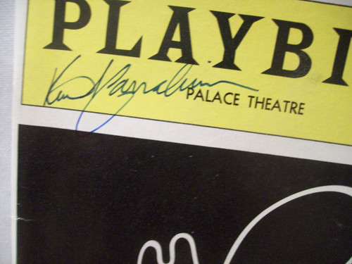 Carradine, Keith Playbill Signed Autograph The Will Rogers Follies A Life In Revue 1991