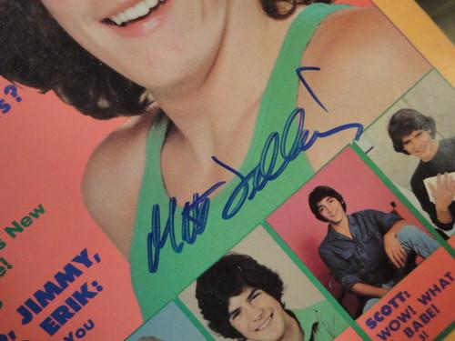 "Dillon, Matt ""Tiger Beat"" Magazine 1981 Signed Autograph Cover Color Photo"