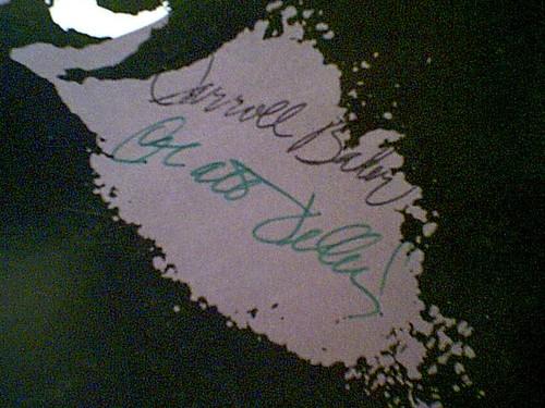 """Dillon, Matt Carroll Baker """"Native Son"""" 1986 LP Signed Autograph"""