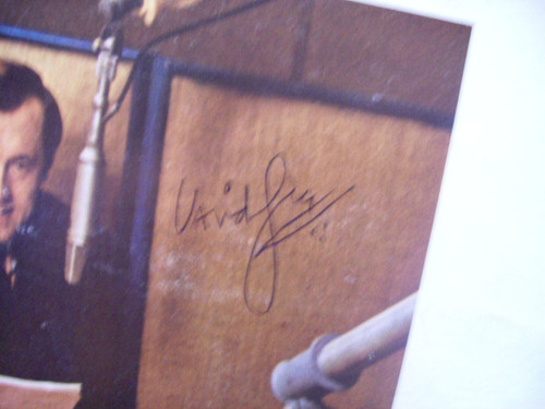 Frost, David LP Signed Autograph On Nursing