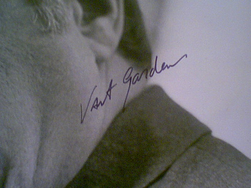 """Gardenia, Vincent 1974 Photo """"Death Wish"""" Signed Autograph Movie Scene With Byline"""