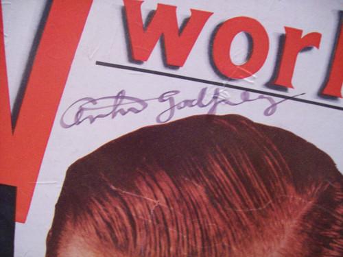 Godfrey, Arthur Magazine Signed Autograph Tv World June 1957