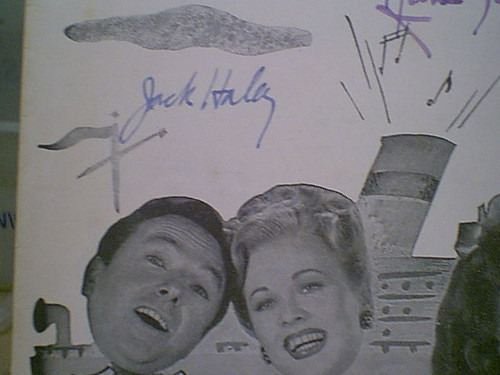 """Haley, Jack and Anne Jeffreys """"Sing Your Way Home"""" 1945 Sheet Music Signed Autograph """"I'll Buy That Dream"""" Great Cover Photos"""