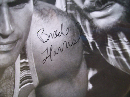 Harris, Brad Press Kit Signed Autograph This Time I'Ll Make You Rich 1974