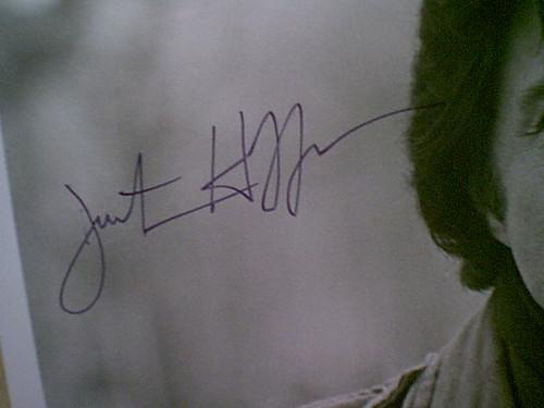 """Hoffman, Dustin 1979 Photo """"Kramer vs. Kramer"""" Signed Autograph Movie Scene"""