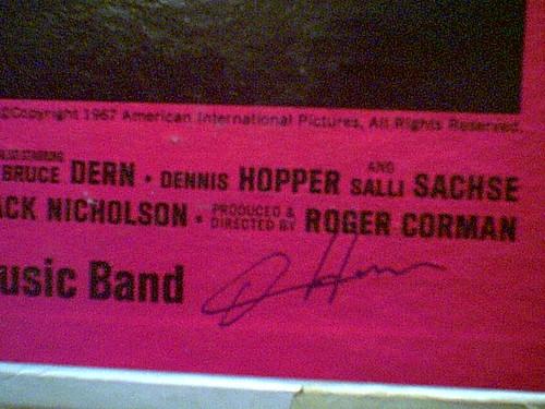 "Hopper, Dennis Peter Fonda Bruce Dern Susan Strasberg ""The Trip"" 1967 LP Signed By 4 Autograph"