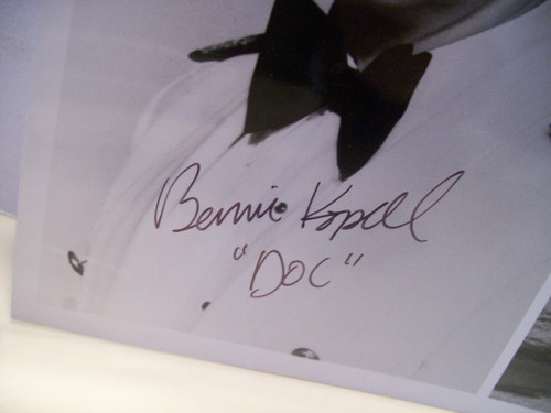 Kopell, Bernie Photo Signed Autograph Love Boat
