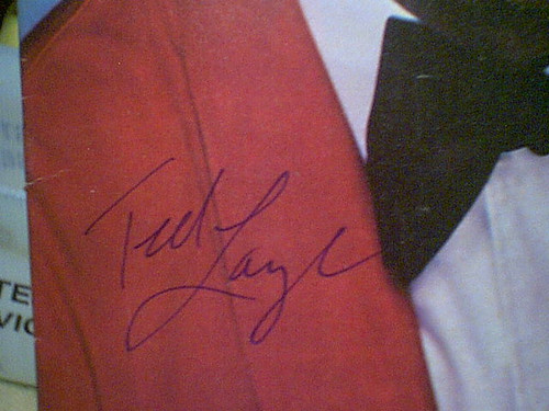 """Lange, Ted TV Week Magazine 1979 Signed Autograph Color Cover Photo """"Love Boat"""""""
