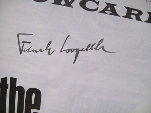 Langella, Frank Playbill Signed Autograph The Immoralist 1963