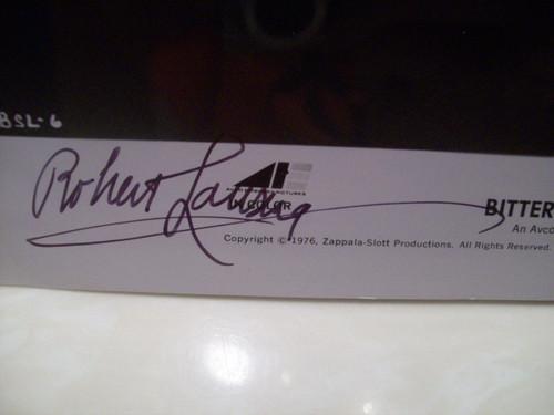 Lansing, Robert Photo Signed Autograph Bittersweet Love 1976
