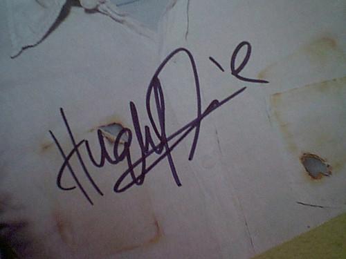 "Laurie, Hugh ""House"" Mini Color Poster Signed Autograph"