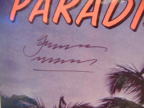 Mckay, Gardner LP Signed Autograph Adventures In Paradise