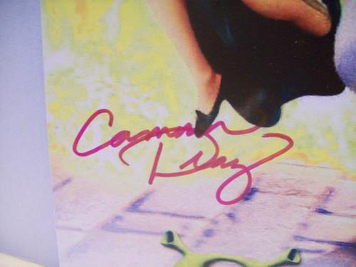 Myers, Mike Cameron Diaz Mini Poster Signed Autograph Shrek 2001