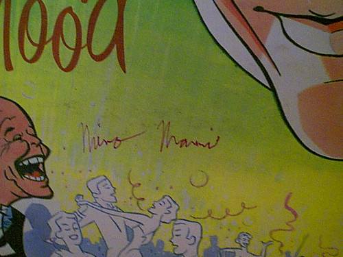 Nanni, Nino LP Signed Autograph In A Party Mood