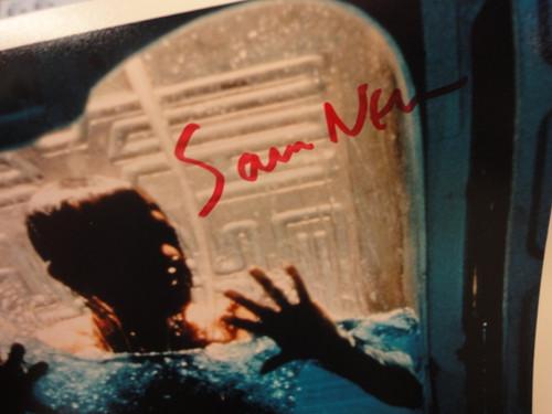 "Neill, Sam ""Event Horizon"" 1997 Color Photo Signed Autograph Movie Scene"