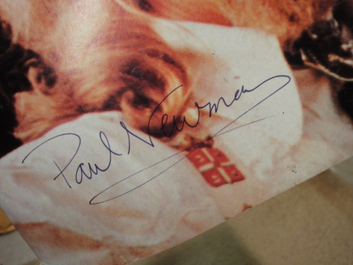 Newman, Paul Crawdaddy Magazine 1976 Signed Autograph Color Cover Photo