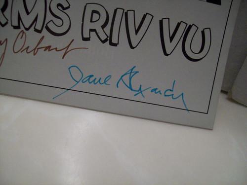 Orbach, Jerry Jane Alexander Playbill Signed Autograph 6 Rms Riv Vu 1973