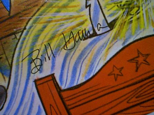 Quick Draw Mcgraw Bill Hanna Joe Barbera 1962 LP Signed Autograph Color Animation Artwork Cover