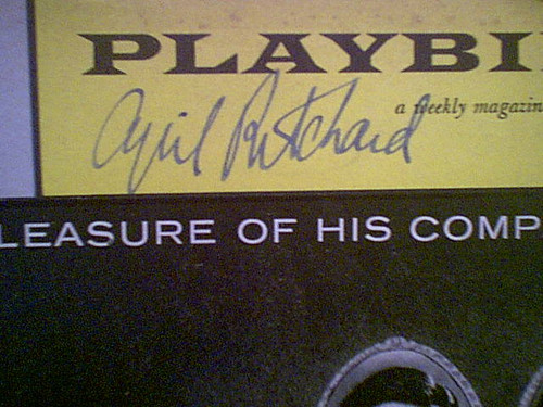 """Ritchard, Cyril 1959 Playbill """"The Pleasure Of His Company"""" Signed Autograph Cover Photo"""