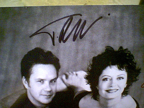 Robbins, Tim Susan Sarandon Photo Signed Autograph