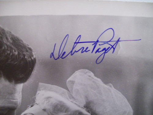 Robertson, Dale Debra Paget Photo Signed Autograph The Gambler From Natchez 1954