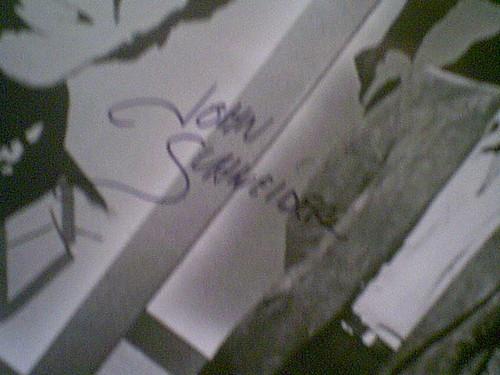 Schneider, John Photo Signed Autograph