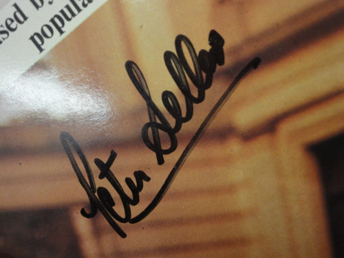 """Sellers, Peter """"The Best Of Sellers"""" 1973 LP Signed Autograph """"Auntie Rotter"""" Import"""