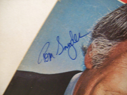Snyder, Tom Tv Week Signed Autograph July 15 1979
