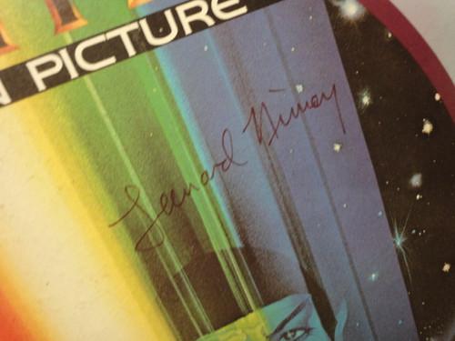 Star Trek The Movie William Shatner Leonard Nimoy DeForest Kelley James Doohan 1979 Signed Autograph Color Video Disc Videodisc