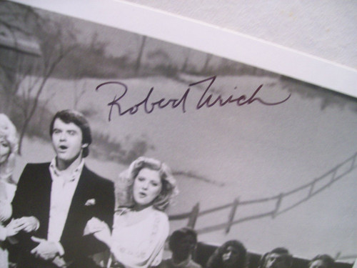 Urich, Robert Photo Signed Autograph Merry Christmas From Grand Ole Opry 1979