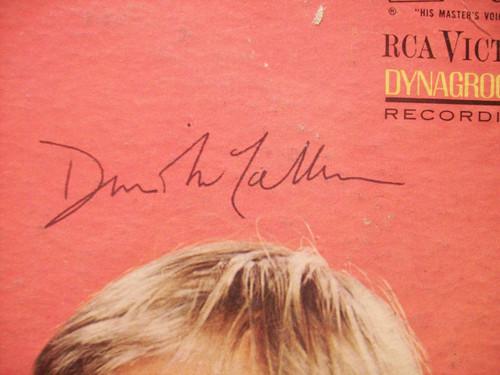 Vaughn, Robert David Mccallum LP Signed Autograph The Man From Uncle 1965