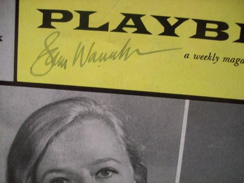 Wanamaker, Sam Playbill Signed Autograph A Far Country 1961