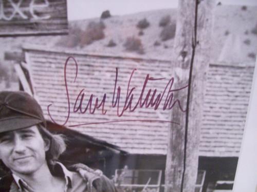Waterston, Sam Jeff Bridges Photo Signed Autograph 1975