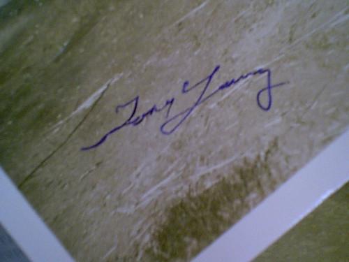"Young, Tony 1960'S Photo Signed Autograph ""Gunslinger"""
