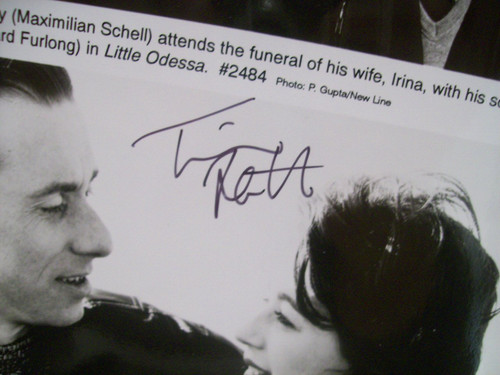 Roth, Tim Photo Signed Autograph Little Odessa