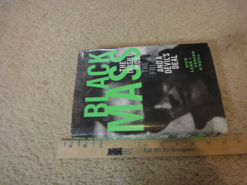 "Bulger, James Whitey ""Black Mass The Irish Mob"" 2000 Book Signed Autograph Photos"