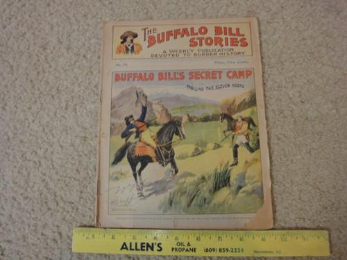 "William ""Buffalo Bill"" Cody Vintage Magazine Signed Autograph"