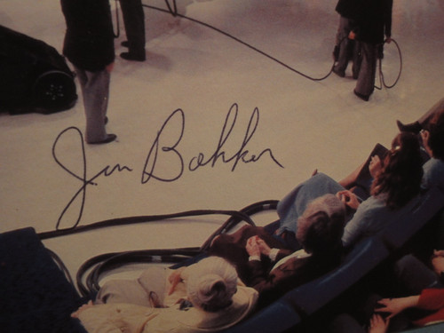 "Jim Bakker ""Jim & Tammy Bakker Present The PTL Singers & Orchestra LP Signed Autograph"