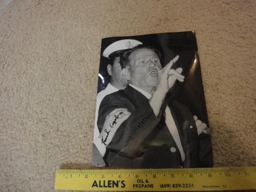 "Frank Coppola MAFIA Gangster Mob Photo Signed Autograph ""Frank Three Fingers"""