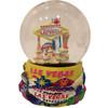 Las Vegas Snowglobe Yellow- Mini