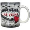 Las Vegas Red & Gray Souvenir Mug 12oz.