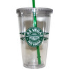Las Vegas Tumbler with Straw- Starbuk Look- 16oz