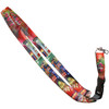 Colorful Las Vegas Lanyard with strong clip in our Fireworks souvenir design.